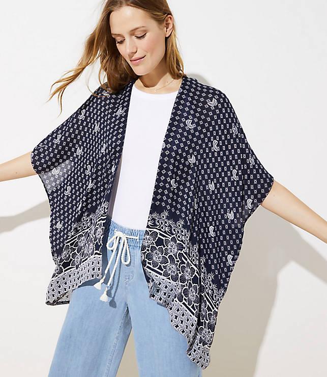 Paisley Kimono by Loft
