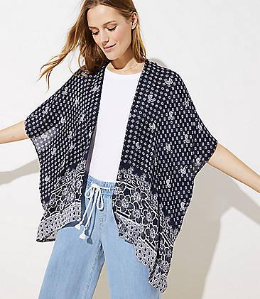 3bb53e47b Kimonos, Wraps & Ponchos | LOFT