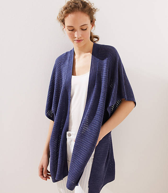 Crochet Kimono by Loft