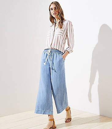 7d3a42bfd338 Denim Jeans for Women: Ripped, High Waisted & Skinny | LOFT
