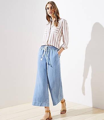 39b94685c9b Denim Jeans for Women: Ripped, High Waisted & Skinny | LOFT