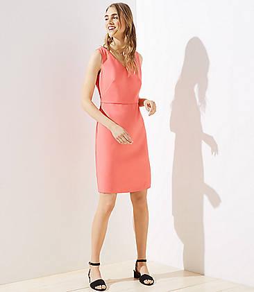 5158f90f289 Double V Sheath Dress