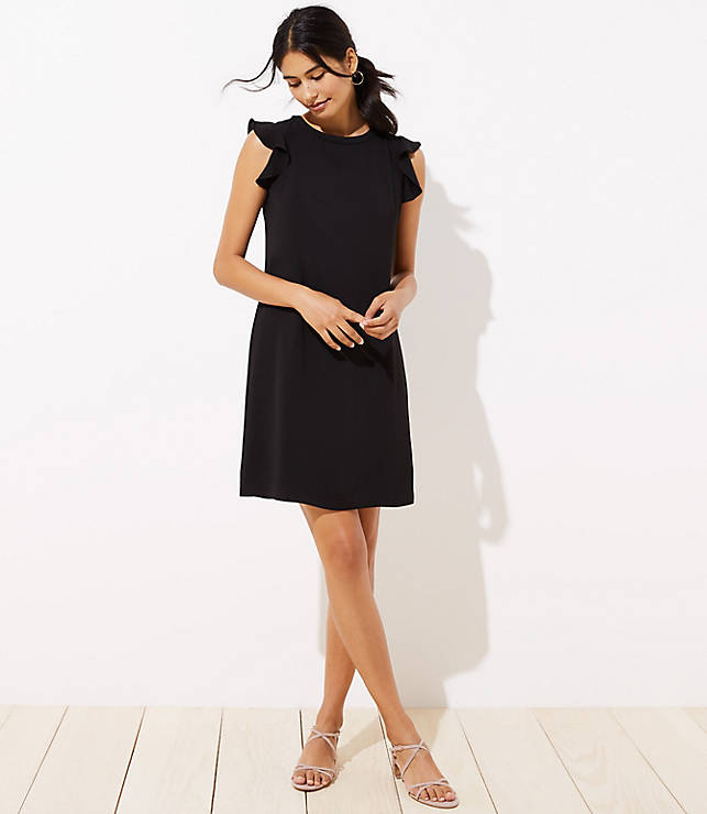 Flutter Tie Back Dress by Loft
