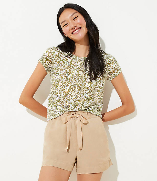 Petite Drawstring Shorts