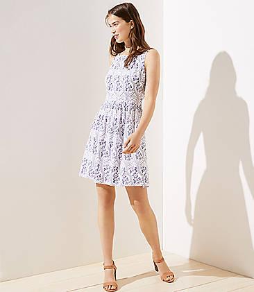 cd00daa16b402 Ladies' Dress Sale: Swing Dresses, Wrap Dresses & Jumpsuits   LOFT