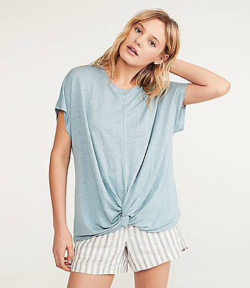 a30ace842a0 Lou & Grey Softserve Linen Twist Front Top