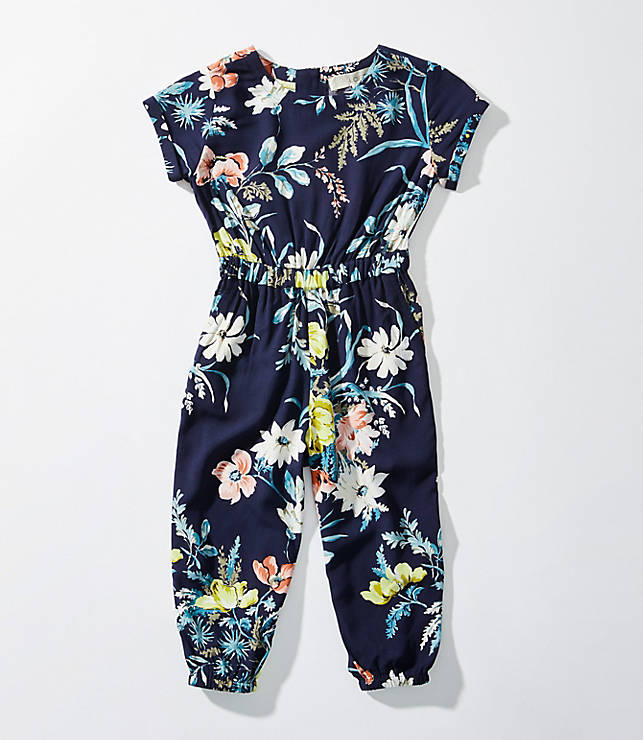 ed0942958ce LOFT Littles Bouquet Jumpsuit