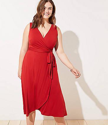 3434e6d6fac Plus Size Wrap Dresses  Maxi