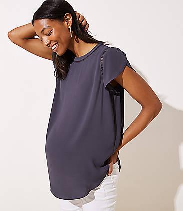 308217c42 Maternity Tops & Shirts: Soft Tees, Camis and Tunics   LOFT
