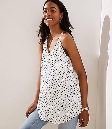 b1eb6044ca455 Maternity Tops & Shirts: Soft Tees, Camis and Tunics | LOFT