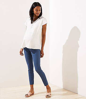 32d62765b62 Maternity Clothes: Dresses, Jeans, Leggings & Tops   LOFT