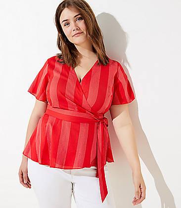 dc27ad30c69eda Plus Size Tops for Women | LOFT