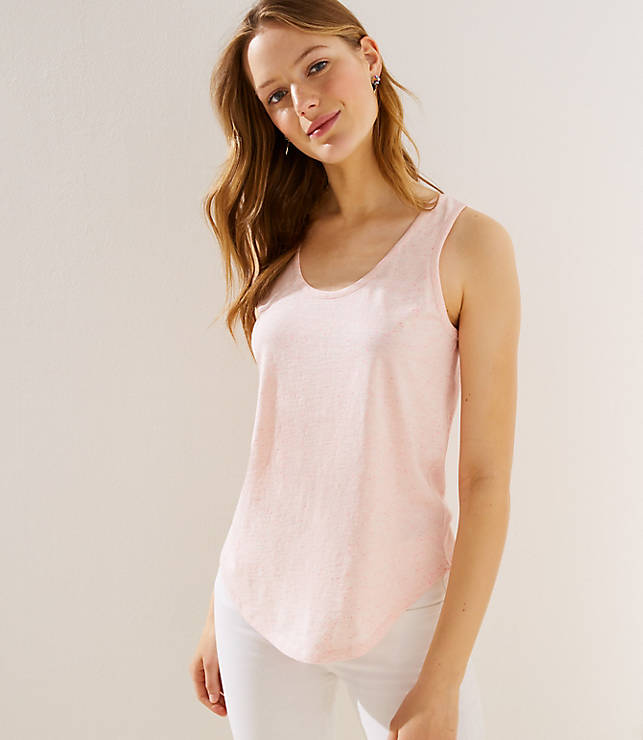 Criss Cross Bank Tank by Loft