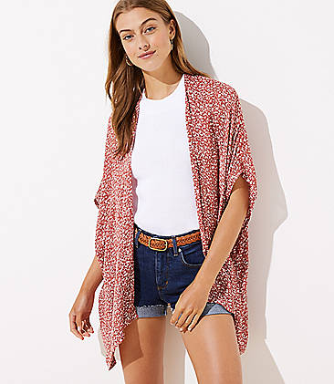 8f3f0d478 Kimonos, Wraps & Ponchos | LOFT