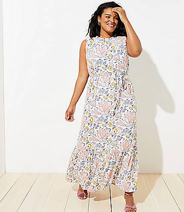 White Plus Size Dresses for Women | LOFT