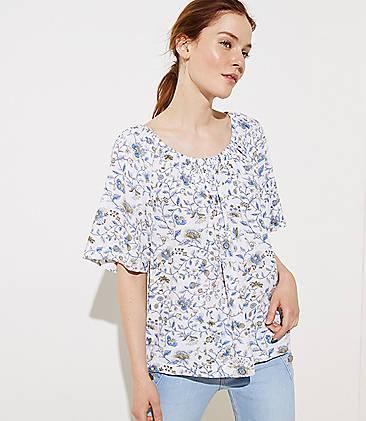 6485dcb84a5e4 Sale Tops: Women's Shirts on Sale| LOFT