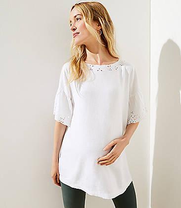 99ebd779af9aa Maternity Clothes: Dresses, Jeans, Leggings & Tops | LOFT