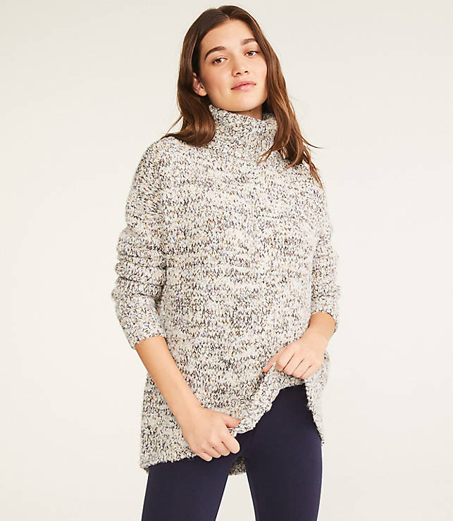 Lou & Grey Glitterknit Tunic Sweater