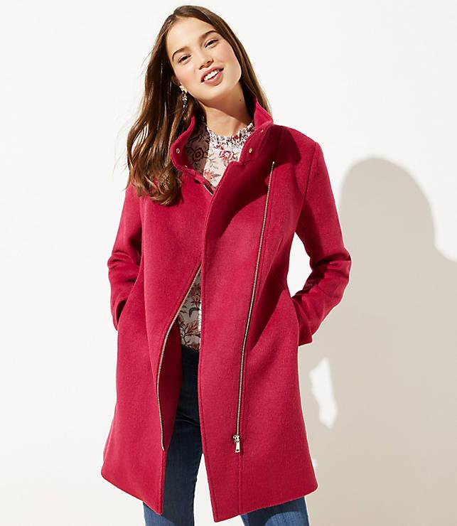 Wooly Moto Coat