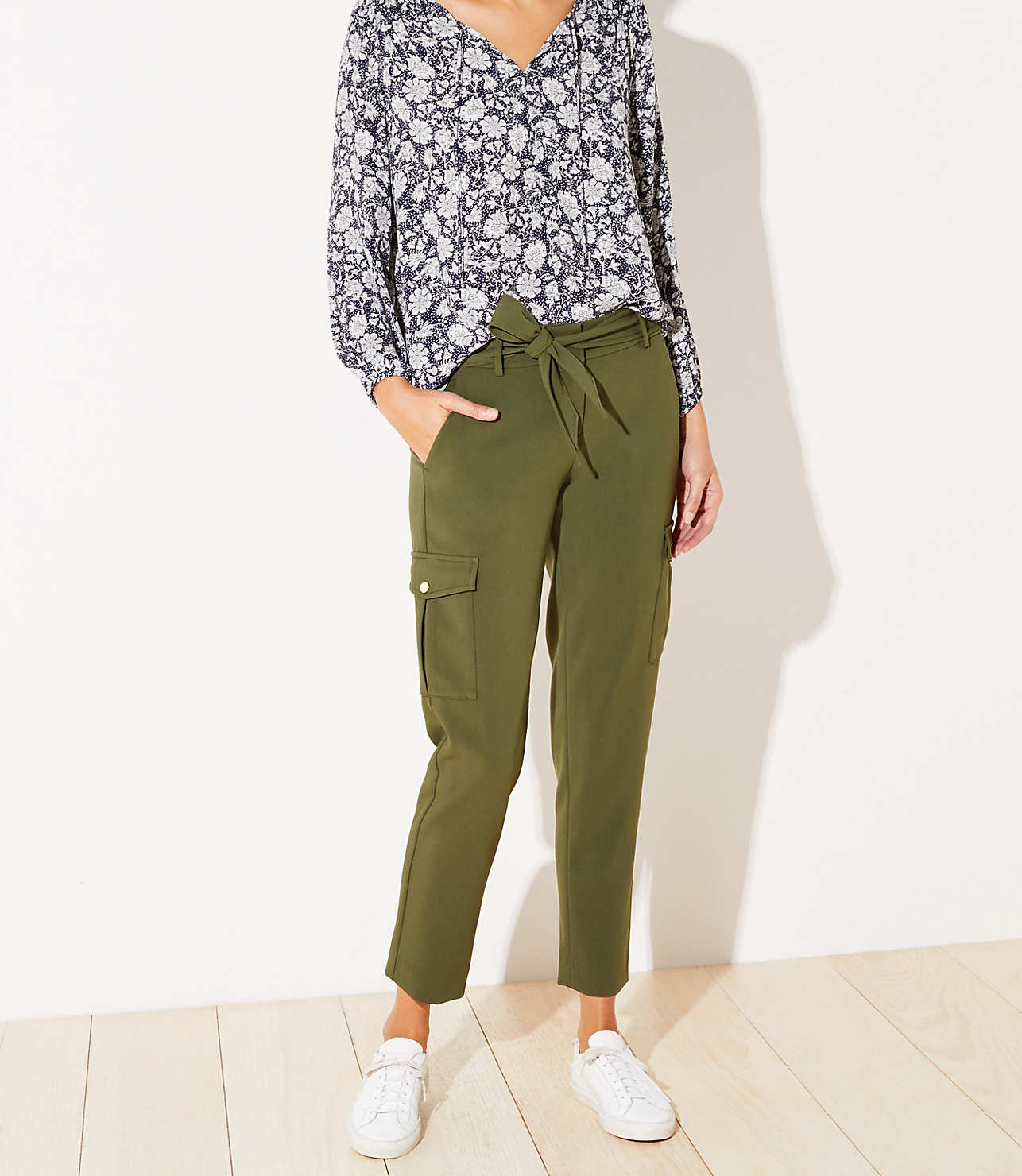 super specials reasonably priced complete in specifications Petite Slim Cargo Pants | LOFT