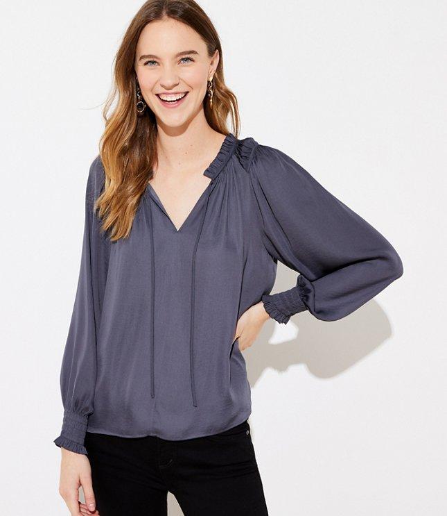 shirt collar neck blouse