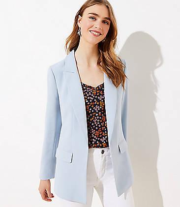 Colourful Womens 1 Button Curvy Plaid OL Fall Winter Blazer Outwear