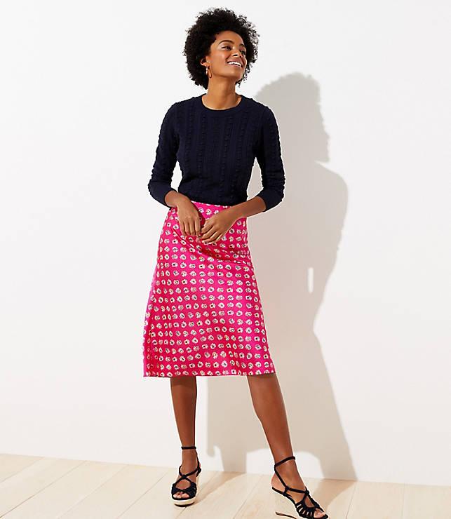 Bloom Midi Skirt