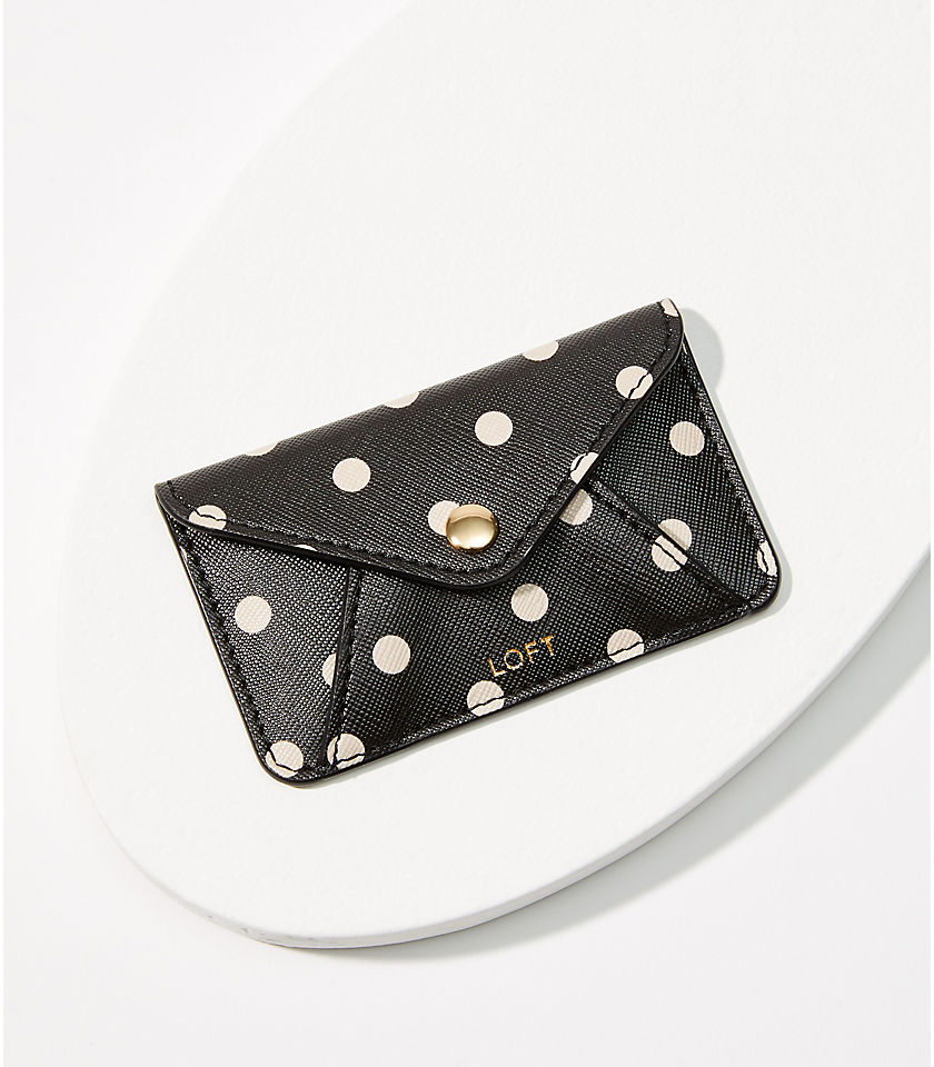 Polka Dot Tech Card Case