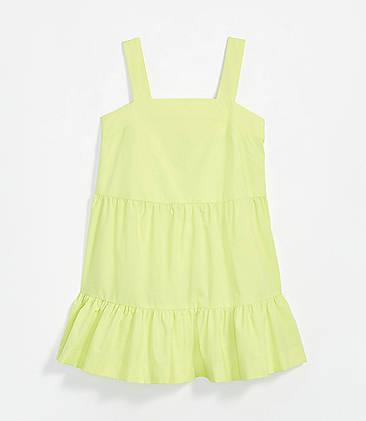 로프트 원피스 LOFT Beach Tie Back Dress,Daiquiri Green