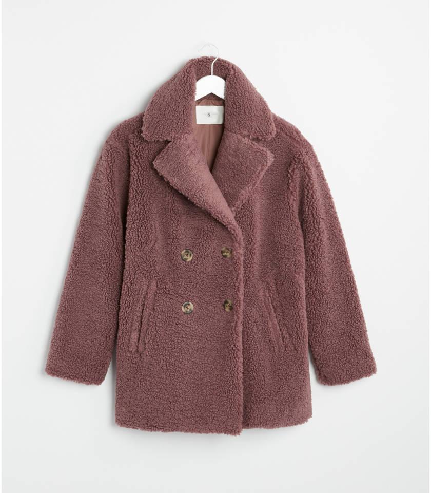 로프트 LOFT Lou & Grey Cozy Up Teddy Coat