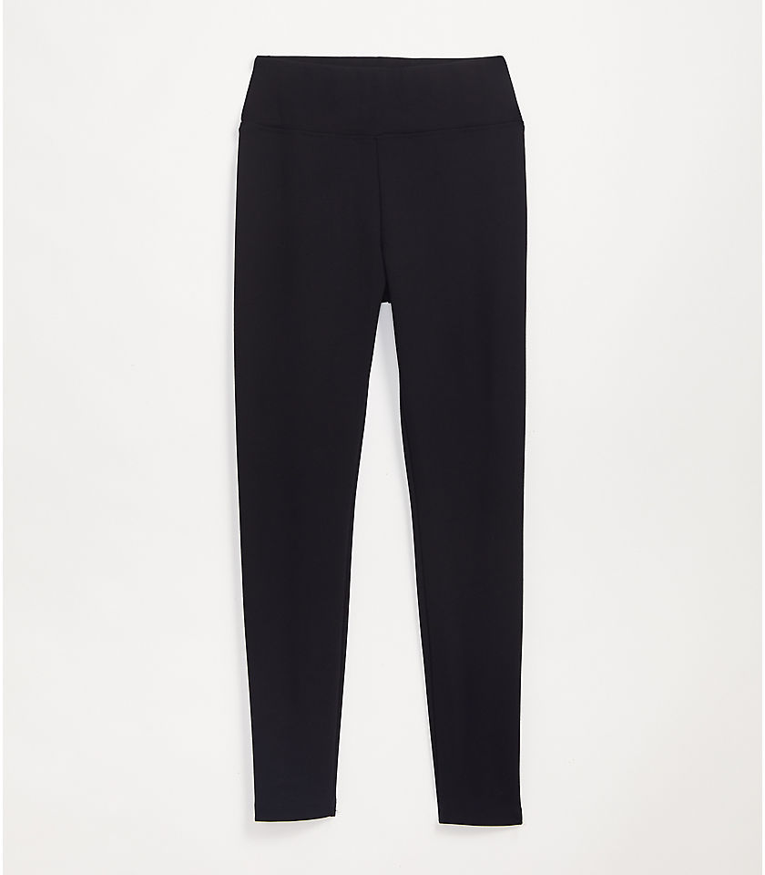 로프트 LOFT Lou & Grey Ponte Leggings,Black