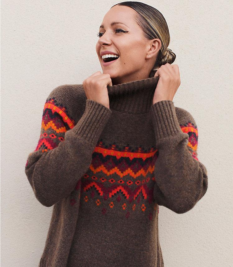 Lou & Grey Fair Isle Sweater