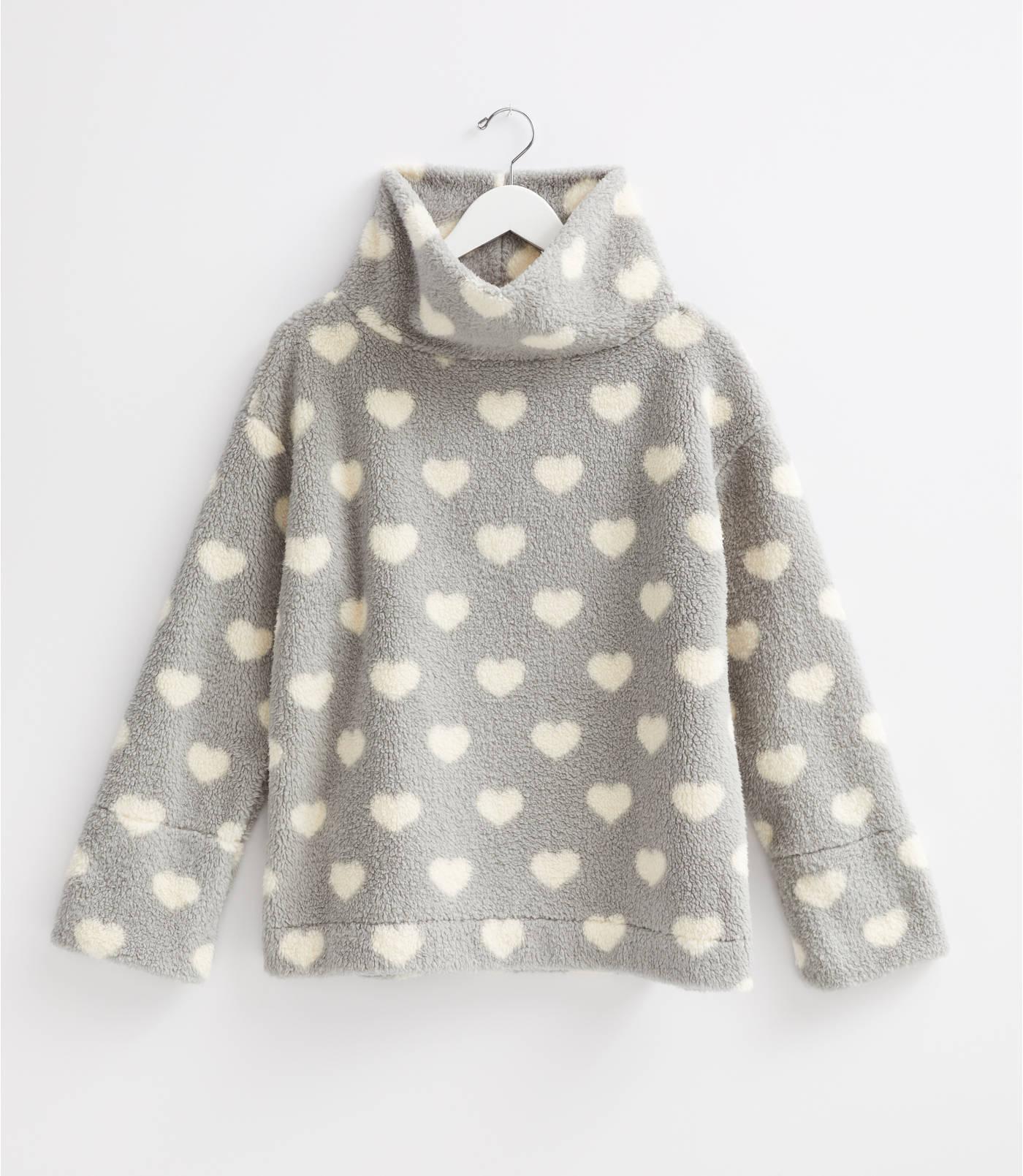 Lou & Grey Heart Cozy Up Cowl Top