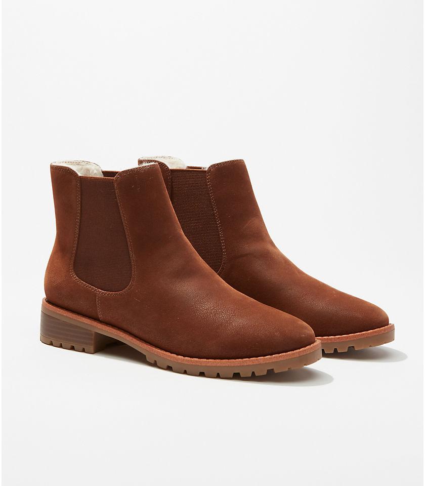 로프트 LOFT Chelsea Boots,Spiced Taupe