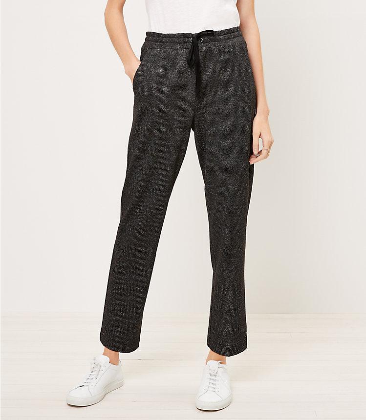 Loft Tapered Knit Drawstring Women's Pants