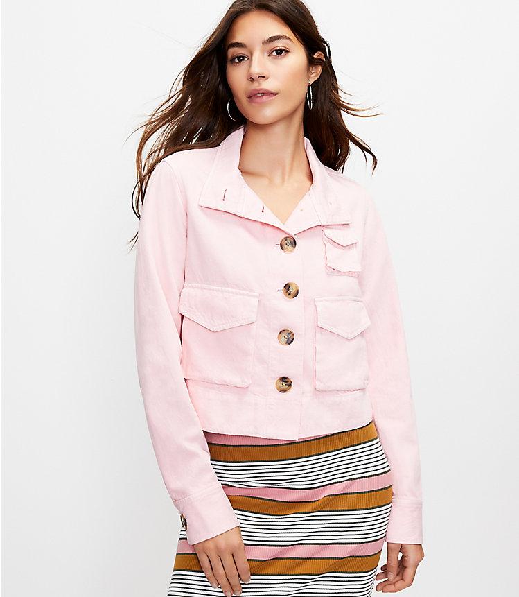 Loft Denim Utility Women's Jacket