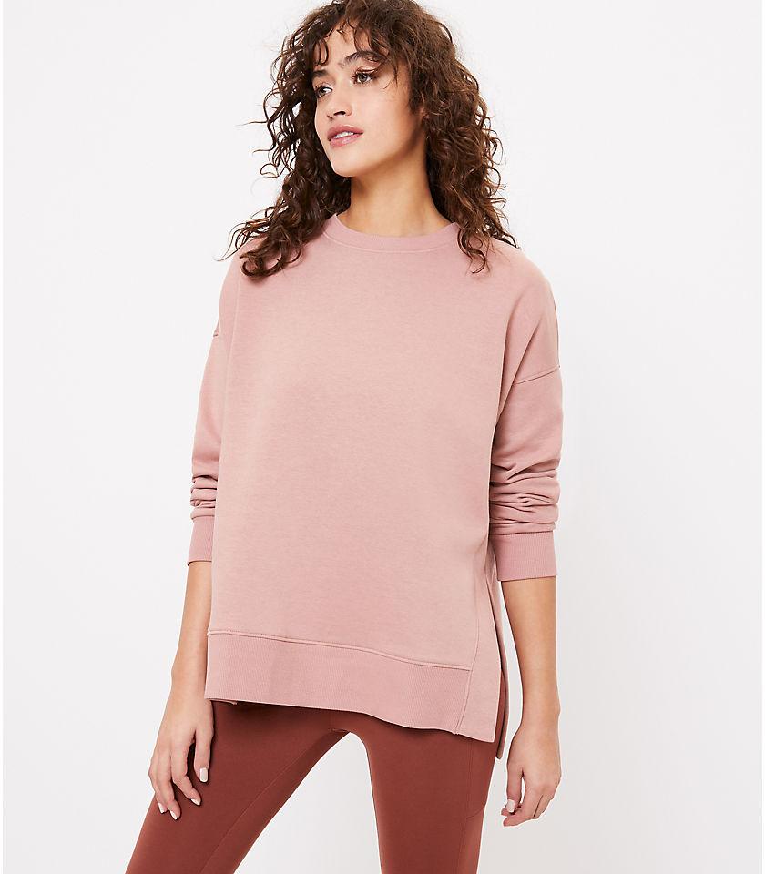 로프트 LOFT Lou & Grey Fleeceback Sweatshirt