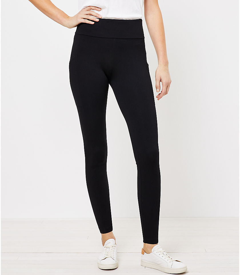 로프트 LOFT Lou & Grey Lite Ponte Pocket Leggings