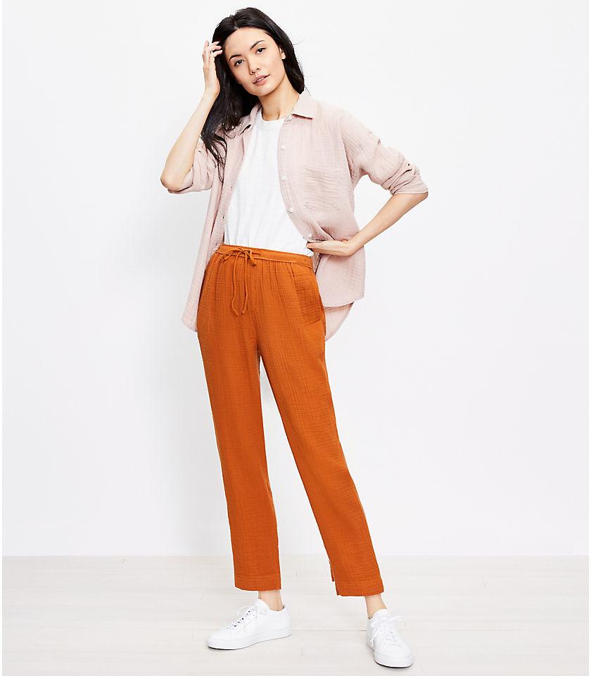 로프트 LOFT Lou & Grey Triple Cloth Pants