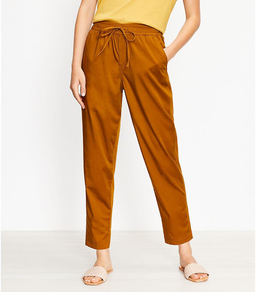 로프트 LOFT Lou & Grey Supersoft Sateen Pants