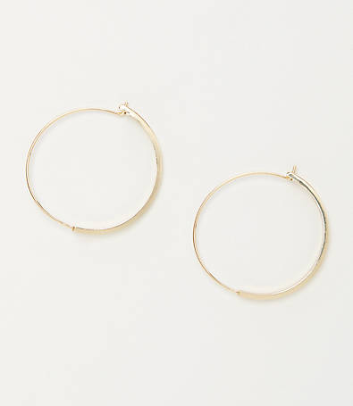 LOFT Bar Hoop Earring