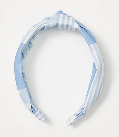 LOFT Patchwork Top Knot Headband