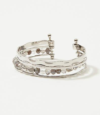 LOFT Layered Cuff Bracelet