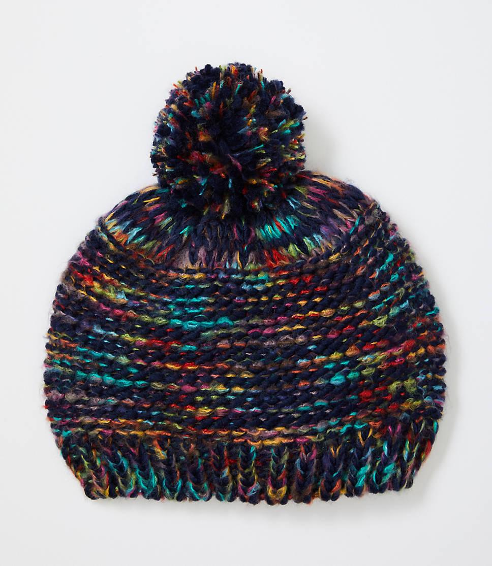 Rainbow Knit Beanie 57df59e3223