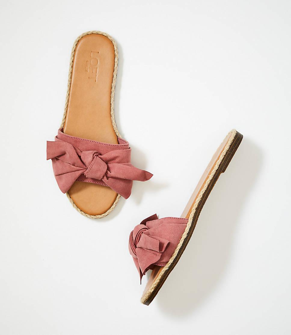 d67920ec49435 Bow Slide Sandals 0