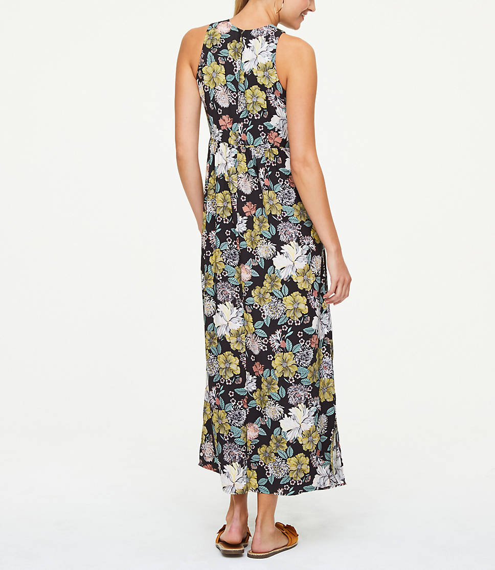 ef1ab86fab6 Petite Floral Sleeveless Maxi Dress 1