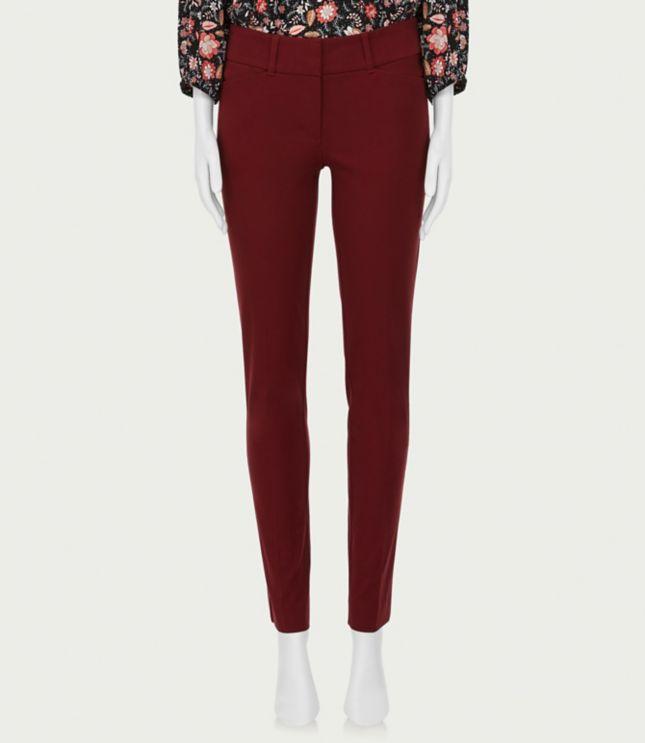 Ann Taylor Petite 8P LOFT Modern Fit Slim Pocket Skinny Crop Jeans Orchard Blue