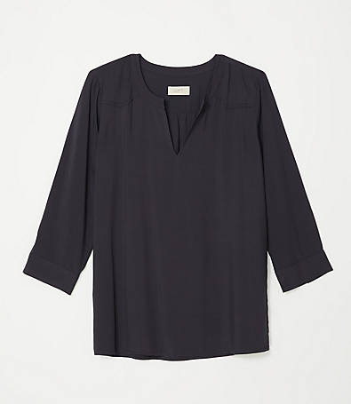 LOFT V-Neck Blouse
