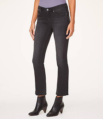 LOFT Demi Boot Jeans in Black