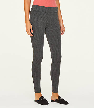 LOFT Herringbone Ponte Leggings